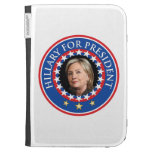 Hillary para el presidente - sello