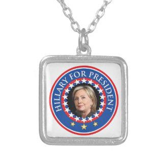 Hillary para el presidente - sello pendiente