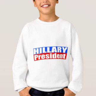 Hillary para el presidente sudadera