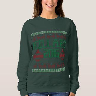 Hillary para el suéter feo del presidente en 2016