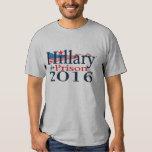 Hillary para la camisa 2016 de la prisión