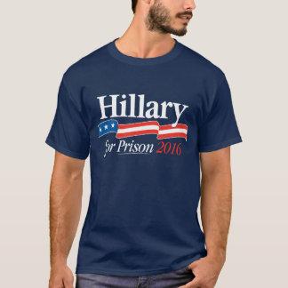 Hillary para la camiseta 2016 de la prisión