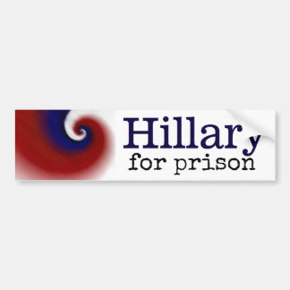 Hillary para la pegatina para el parachoques de la pegatina para auto