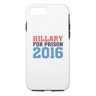 Hillary para la prisión funda iPhone 7