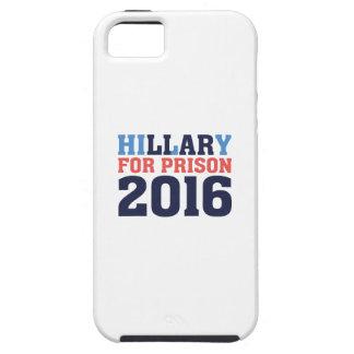 Hillary para la prisión funda para iPhone SE/5/5s