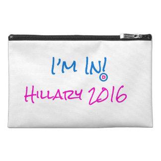Hillary para presidente Cosmetics Bag