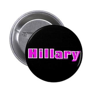Hillary Pin Redondo De 2 Pulgadas