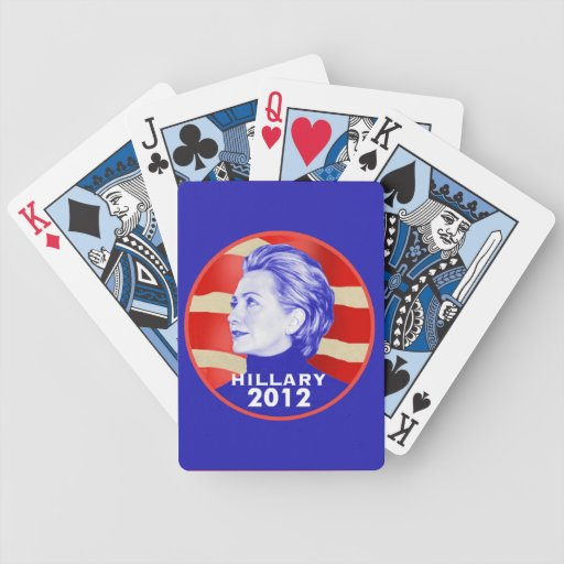 HILLARY PLAYING CARDS