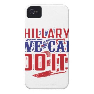 ¡Hillary podemos hacerlo! iPhone 4 Case-Mate Carcasas