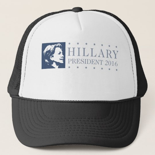 Hillary - president 2016 trucker hat