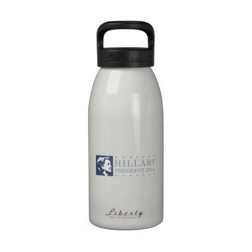 Hillary - president 2016 water bottle