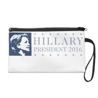 Hillary - president 2016 wristlets