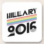HILLARY PRIDE 2016 VINTAGE -.png Beverage Coasters