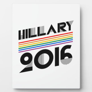 HILLARY PRIDE 2016 VINTAGE -.png Photo Plaques