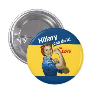 Hillary puede hacerlo 2016 pin