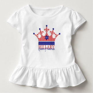 Hillary, Queen of America Toddler T-shirt