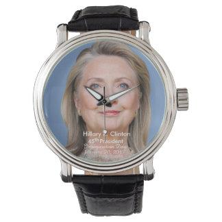 Hillary R. Clinton Inauguration Day January 20 '17 Watches