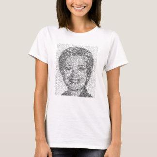 Hillary Rendered w/1st Amendment - Women's T-Shirt