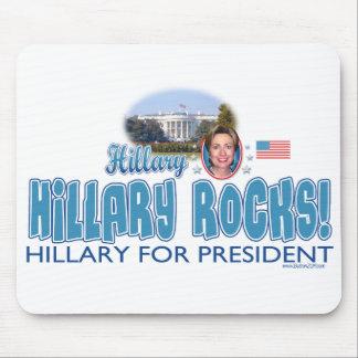 Hillary Rocks! Hillary Clinton Mousepad