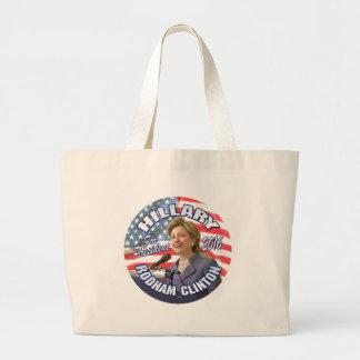 Hillary Rodham Clinton 2016 Tote Bags