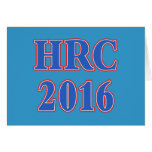 Hillary Rodham Clinton 2016 Greeting Card