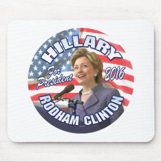 Hillary Rodham Clinton 2016 Mousepad