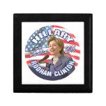 Hillary Rodham Clinton 2016 Trinket Boxes