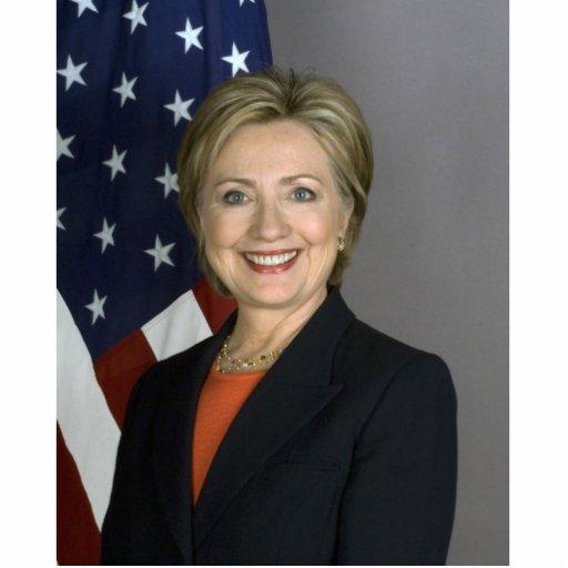 Hillary Rodham Clinton Acrylic Cut Outs