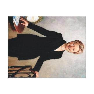 Hillary Rodham Clinton Impresión En Lienzo