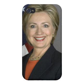 Hillary Rodham Clinton iPhone 4 Carcasas
