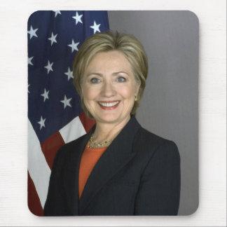 Hillary Rodham Clinton Mouse Pad