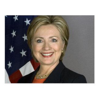 Hillary Rodham Clinton Postcard