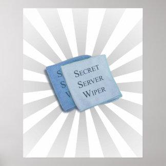Hillary Secret Server Wiper Poster