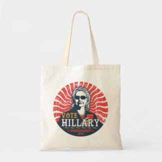 Hillary Shades Tote Bag