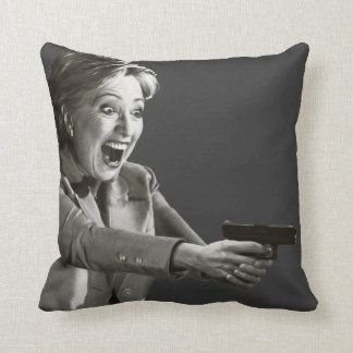 Hillary Shooter Pillow