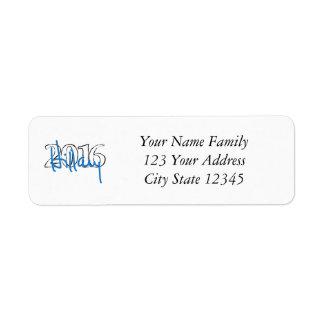 Hillary signature collection return address label