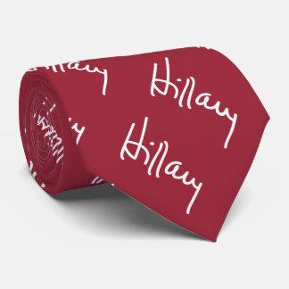 Hillary Signature Necktie