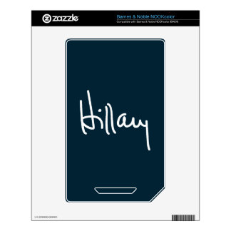 Hillary Signature Skin For The NOOK Color