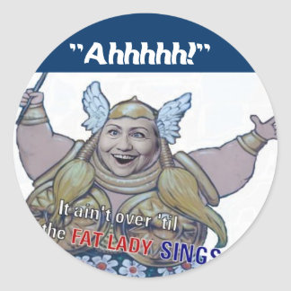 Hillary Sings Stickers