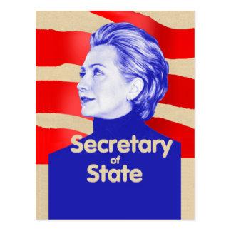 Hillary State Postcard