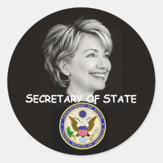 Hillary State Sticker