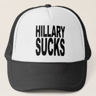 Hillary Sucks Trucker Hat