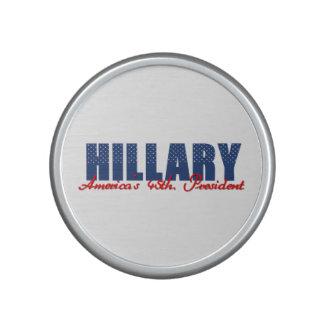 Hillary The 45th. President Bluetooth Speaker
