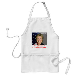 HILLARY THE QUEEN ADULT APRON