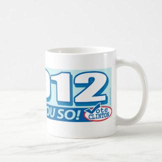 Hillary- Told You So 2012 Coffee Mug