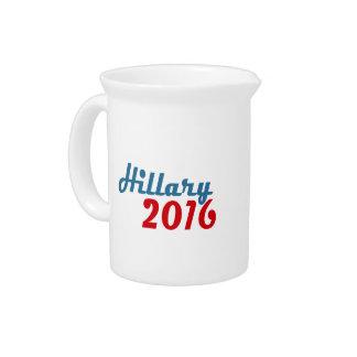 HILLARY TWENTY SIXTEEN 2016 BEVERAGE PITCHER