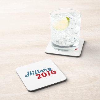 HILLARY TWENTY SIXTEEN.png Beverage Coaster
