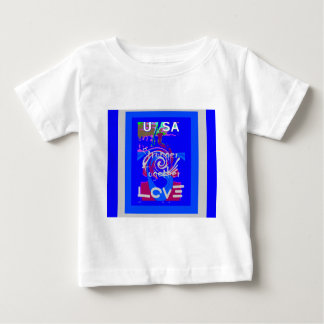 Hillary USA President Stronger Together spirit Baby T-Shirt