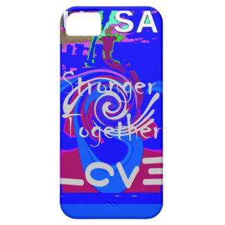 Hillary USA President Stronger Together spirit iPhone SE/5/5s Case