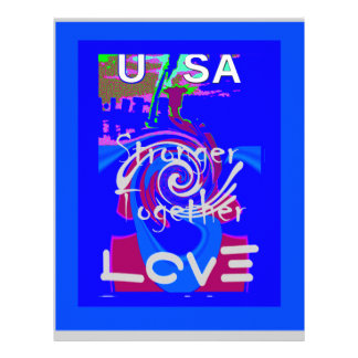Hillary USA President Stronger Together spirit Letterhead